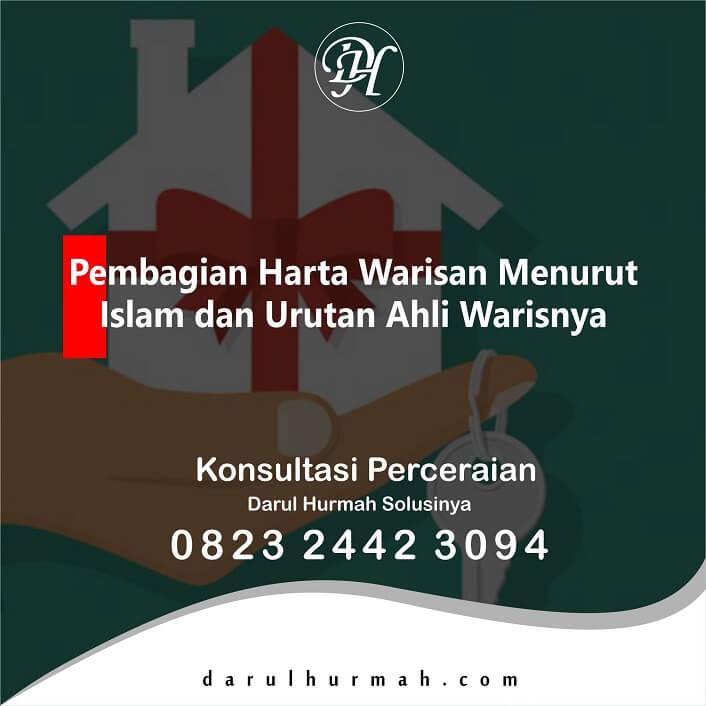 Pembagian Harta Warisan Menurut Islam dan Urutan Ahli Warisnya